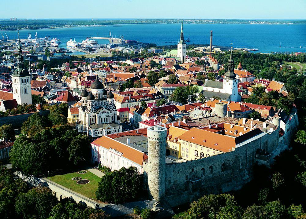 города эстонии  таллин