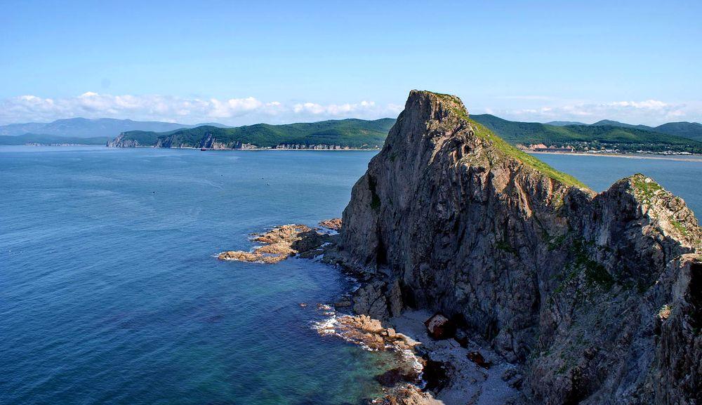 владивосток. остров русский фото